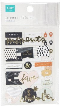 NEW-Craftsmart-2-Pack-Planner-Stickers on sale