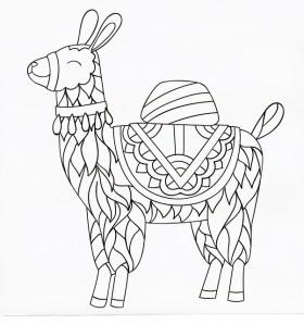 Kaisercraft-Canvas-Llama on sale