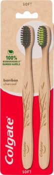 Colgate-Bamboo-Charcoal-Manual-Toothbrush-2-Pack on sale