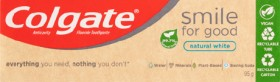 Colgate-Smile-For-Good-Natural-White-Toothpaste-95g on sale