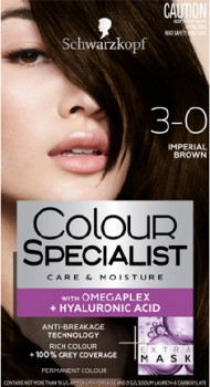 Schwarzkopf-Colour-Specialist-Colour-Creme-3.0-Imperial-Brown on sale