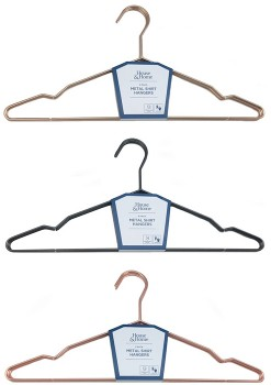House-Home-5-Pack-Metal-Shirt-Hangers on sale