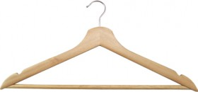 House-Home-5-Pack-Wooden-Hangers on sale