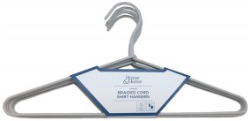 House-Home-5-Pack-Braided-Cord-Shirt-Hangers on sale