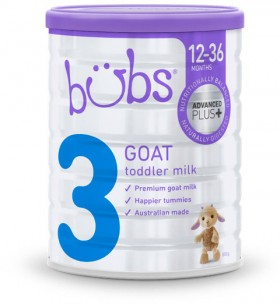 Bubs-Goat-Milk-Formula-Stage-3-800g on sale