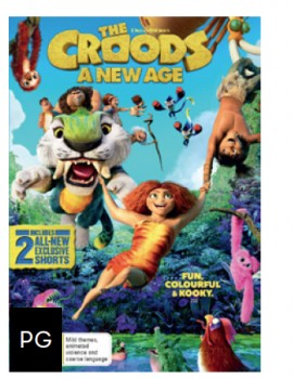 NEW-The-Croods-A-New-Age-DVD on sale