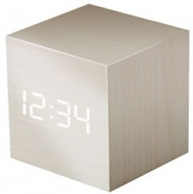 Liquid-Ears-Mini-LED-Alarm-Clock-White on sale