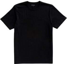 Brilliant-Basics-Mens-Basic-Crew-Tee-Black on sale