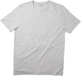 Brilliant-Basics-Mens-Basic-Crew-Tee-Grey on sale