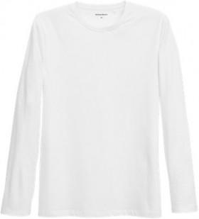 Brilliant-Basics-Mens-Long-Sleeve-Organic-Cotton-Tee-White on sale