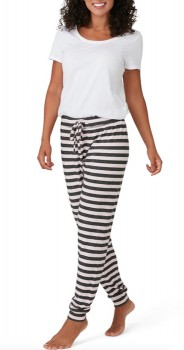 Brilliant-Basics-Stripe-Sleep-Pant-Pink on sale