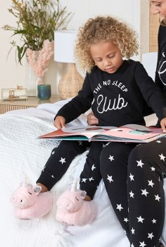 Brilliant-Basics-Kids-Star-Knit-Pyjama-Set-Girls on sale