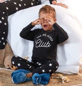 Brilliant-Basics-Kids-Star-Knit-Pyjama-Set-Boys on sale