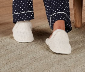 Brilliant-Basics-Chenille-Mule-Slippers on sale