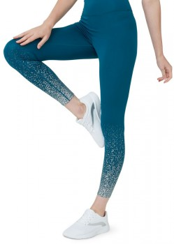NEW-Circuit-Foil-Print-Leggings on sale