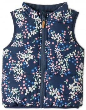 Sprout-Girls-Vest-Blue on sale