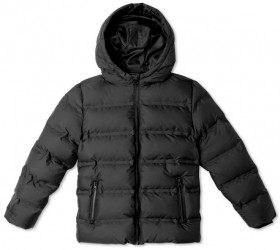 Bauhaus-Tween-Puffer-Jacket-Black on sale