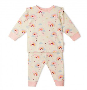 Sprout-PJ-Set-Pink on sale
