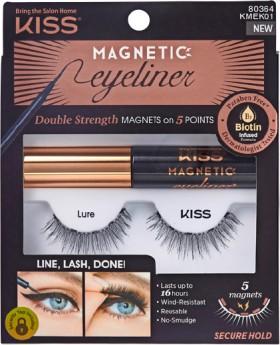 Kiss-Magnetic-Lash-and-Eyeliner-Kit-Lure-1-Kit on sale