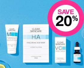 Save-20-on-Clear-Skincare-Clinical-Skincare-Range on sale