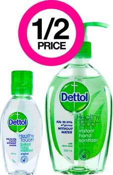 12-Price-on-Selected-Dettol-Hand-Sanitizers on sale