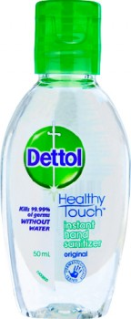 Dettol-Healthy-Touch-Liquid-Antibacterial-Instant-Hand-Sanitiser-50mL on sale