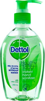 Dettol-Healthy-Touch-Instant-Hand-Sanitiser-Aloe-Vera-200mL on sale