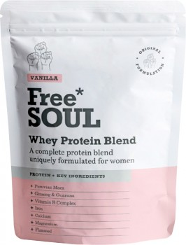 Freesoul-Whey-Protein-Blend-Vanilla-510g on sale