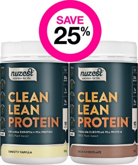 Save-25-on-Selected-Nuzest-Products on sale