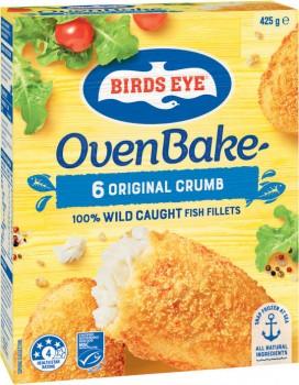 Birds-Eye-Oven-Bake-Fish-Fillets-425g on sale