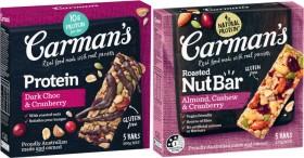 Carmans-Bars-160g-270g on sale