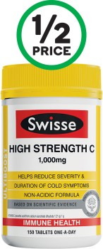 Swisse-High-Strength-C-Immune-Health-Tablets-Pk-150 on sale