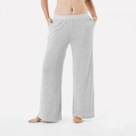 Brushed-Wide-Leg-Pants on sale