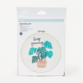 Embroidery-Kit-Plant on sale