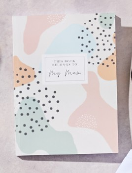 Soft-Touch-Personalised-Note-Book on sale