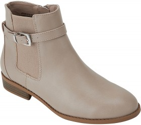 Almond-Toe-Buckle-Boots on sale