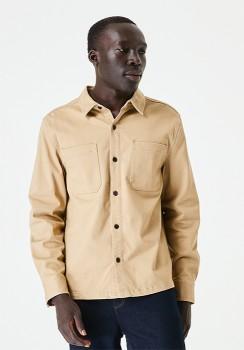 Overshirt-Sand on sale