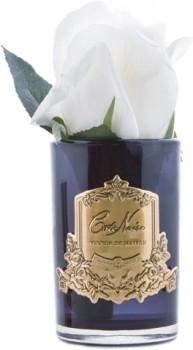 Cte-Noire-Rose-Buds-13.5cm-White-Black on sale