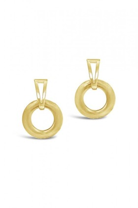 By-Fairfax-Roberts-Contemporary-Geometric-Earrings on sale
