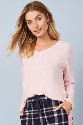 Mia-Lucce-Ribbed-Top on sale