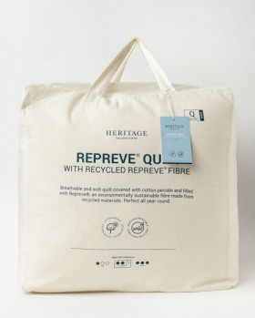 Heritage-Repreve-Polyester-Quilt on sale