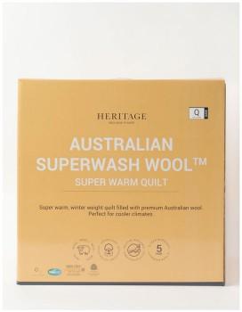 Heritage-Australian-Superwash-Wool-Warm-Quilt on sale