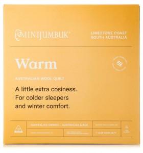 MiniJumbuk-Warm-Wool-Quilt on sale
