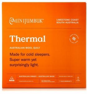 MiniJumbuk-Thermal-Wool-Quilt on sale