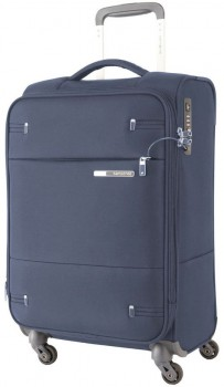 Samsonite-Base-Boost-2-Softside-Suitcase-Small-55cm-2.1kg-in-Navy on sale