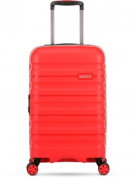 Antler-Juno-2-Expandable-Hardside-Suitcases-Small-56cm-2.5kg-in-Red on sale