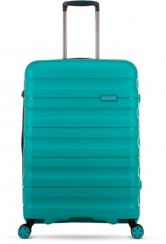Antler-Juno-2-Expandable-Hardside-Suitcases-Small-56cm-2.5kg-in-Teal on sale