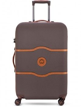 Delsey-Chatelet-Air-4-Wheel-67cm-4.2kg-in-Chocolate on sale