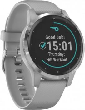 Garmin-Vivoactive-4S-Hybrid-Watch-Grey-Silver on sale