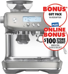 Breville-The-Barista-Pro-Smoked-Hickory on sale